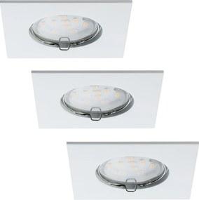 Paulmann 92760 - SET 3x LED Lampă încastrată baie COIN LED/6,8W IP44