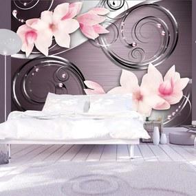Fototapet Bimago - Pink phantasmagoria + Adeziv gratuit 400x280 cm