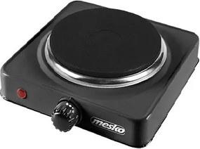 Plita electrica cu un ochi Mesko MS 6508 negru, 15,4 cm, 1000 W