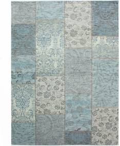 Covor Flair Rugs Patchwork Chenille Duck Egg, 120 x 170 cm, gri-albastru