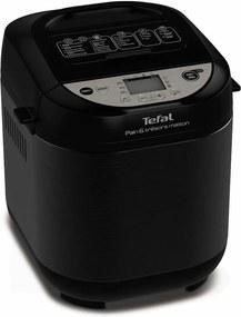 Masina de paine Tefal PF251835, 22 programe, Negru