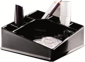 Organizator pătrat pentru cosmetice Compactor, negru