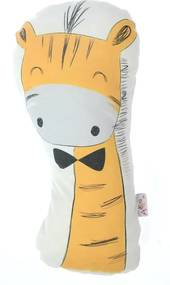 Pernă din amestec de bumbac pentru copii Mike & Co. NEW YORK Pillow Toy Giraffe, 17 x 34 cm