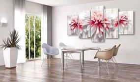 Tablou - Divine Dahlias 100x50 cm