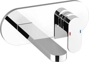 Baterie lavoar Ravak Concept Chrome CR 019.00 cu montaj incastrat, corp ingropat R-box inclus
