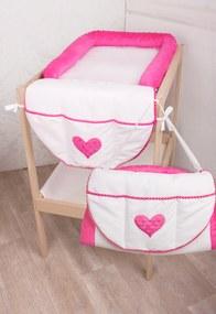 scutec mașină de spălat și sac 2v1 minka roz 090 RW