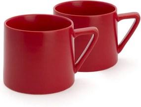 Set 2 căni Bredemeijer Lund, 300 ml, roșu