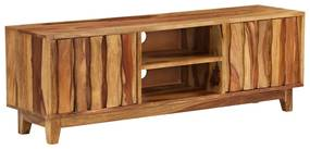 246204 vidaXL Comodă TV, lemn masiv de sheesham, 118 x 30 x 40 cm