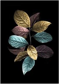 Styler Tablou pe sticlă - Leaves 2 70x100 cm