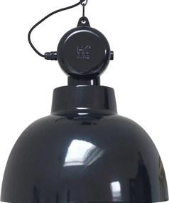 Lampa Suspendata Industriala FACTORY Neagra L - Metal Negru Diametru (55x50 cm)