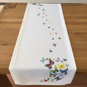 Napron Butterflies 45 x 140 cm