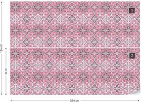 Fototapet GLIX - Vintage Tiles Pattern 4 + adeziv GRATUIT Tapet nețesute - 254x184 cm