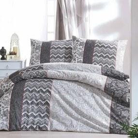 Lenjerie de pat, din bumbac, Estenza, 140 x 200 cm, 70 x 90 cm
