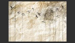 Fototapet Bimago - Paper World + Adeziv gratuit 300x210 cm