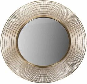 Oglinda cu rama din metal ø96cm Mir Gold