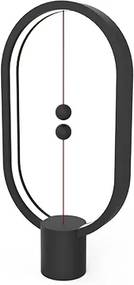 Veioză Heng Balance, cablu detaşabil USB-C - Negru