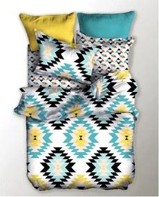 Lenjerie de pat din microfibră DecoKing Indie, 135 x 200 cm