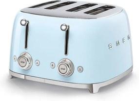Toaster albastru pastel 50's Retro Style P4 2000W - SMEG