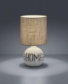 Trio R50651025 Lampa de masa de noapte ESNA alb ceramică excl. 1 x E14, max. 40W IP20
