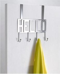 Cuier suspendat pentru ușă Compactor Hello, 4 cârlige