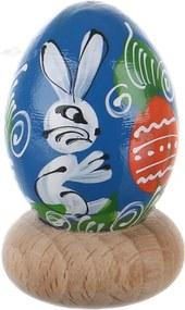 Ou de Paste din lemn pictat manual diverse modele dimensiune ou prepelita
