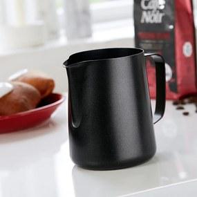 Cană din oțel inoxidabil pentru lapte Steel Function Black, 1 l