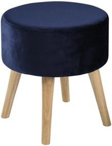Taburet Actona Sherman, albastru