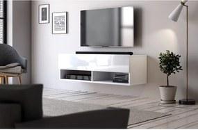 Comoda TV Wescott, alb, 100 x 30 x 31 cm