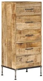 247806 vidaXL Scrin, 45x35x106 cm, lemn masiv de mango