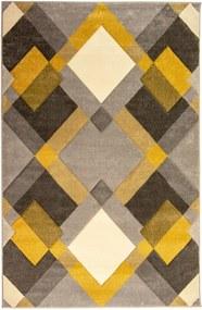 Covor Flair Rugs Nimbus Ochre, 120 x 170 cm, gri-galben