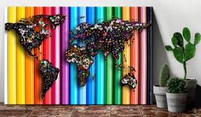 Tablou din plută - Colored Pencil 120x80 cm