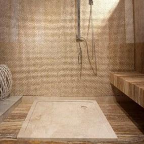 Cada baie marmura Cappuccino ULTRA PLAT 90 x 90 x 3 cm