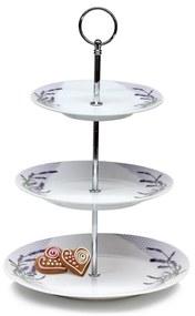 Suport prăjituri 3 etaje Banquet Lavender