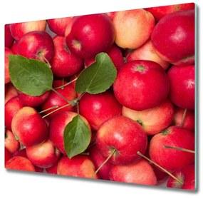 Tocator din sticla mere roșii