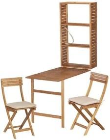 Set din lemn de salcâm pentru balcon ADDU Serena