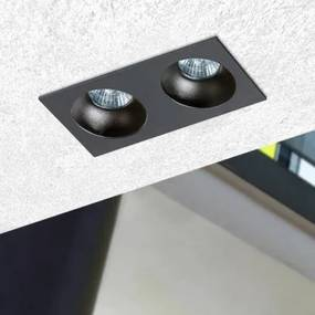 AZzardo Hugo 2 Black Downlight AZ1740