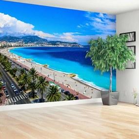 Fototapet Plaja din Nisa, Franța