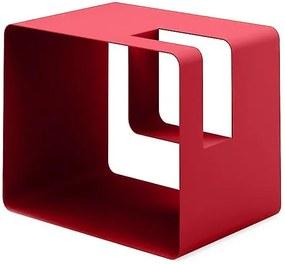 Suport pentru ziare și reviste MEME Design Libris, roșu