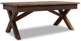 244492 vidaXL Măsuță de cafea, lemn masiv reciclat, 110 x 60 x 45cm