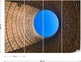 Fototapet GLIX - Goldeneye + adeziv GRATUIT Tapet nețesute - 254x184 cm