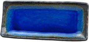 Farfurie servire din ceramică MIJ Cobalt, 29 x 12 cm, albastru