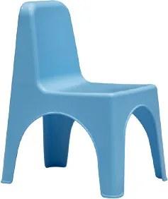 Scaun pentru copii Mida plastic, portocaliu/verde/albastru/roz