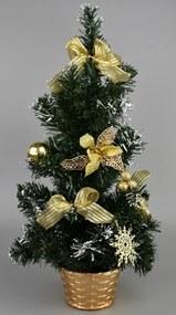 Pom de Crăciun Dimmitt auriu, 31 cm
