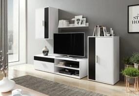 Expedo Mobilă sufragerie TORIKO, alb/negru