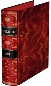 Biblioraft Premier rosu El Casco 2 inele M810