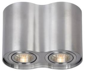 Lucide 22952/02/12 - Lampa spot TUBE 2xGU10/35W/230V crom mat