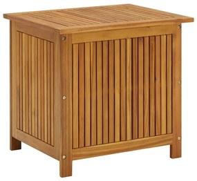 310283 vidaXL Ladă de depozitare grădină, 60x50x106 cm, lemn masiv de acacia