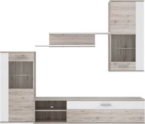 Set mobilier din 4 piese Canada Sand Oak