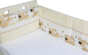 Aparatori laterale pentru pat Puppy Beige