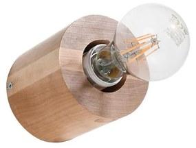 Aplică SALGADO 1xE27/60W/230V lemn